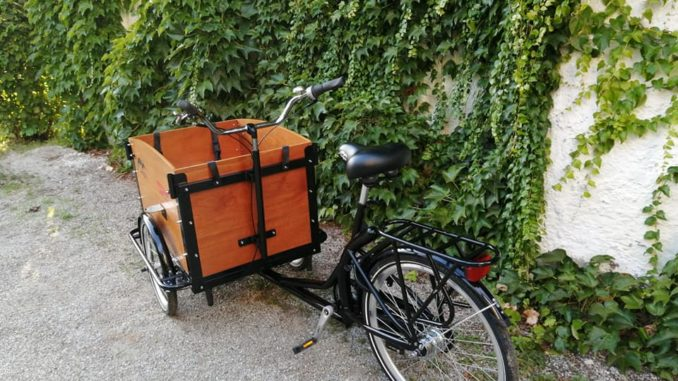 Cargo Bike - modernes, umweltfreundliches Transportmittel